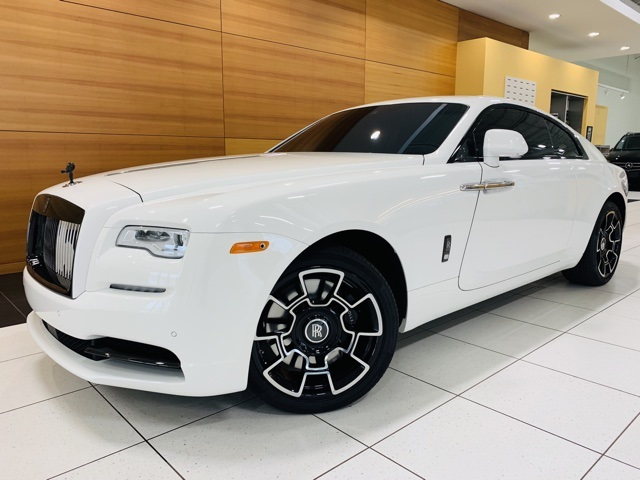 Certified Pre Owned 2017 Rolls Royce Wraith Black Badge
