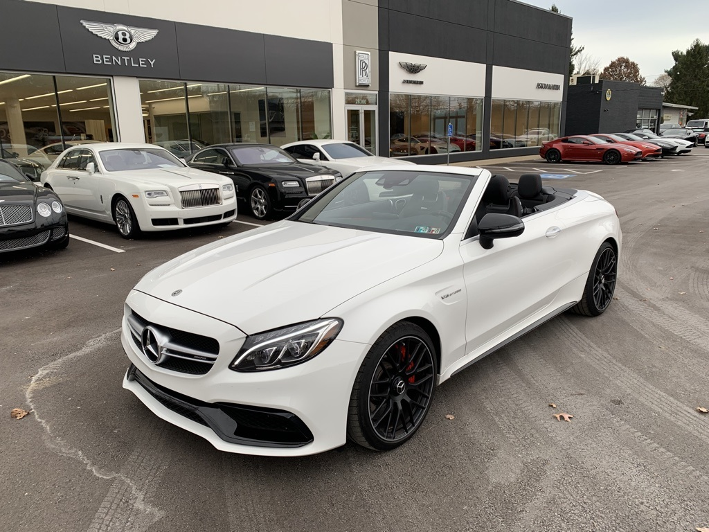 Pre-Owned 2018 Mercedes-Benz C-Class C 63 S AMG®